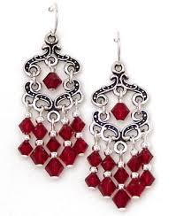 Red Chandelier Earrings Earrings Galore Jewelry 1104 Lincoln Ave Baraboo Wi Phone