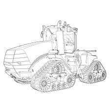 art of the tractor coloring book octane press