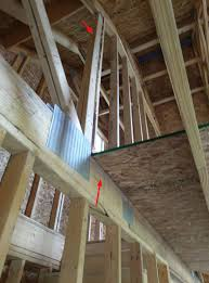 rough in attic truss wall truss on three sides how do i get