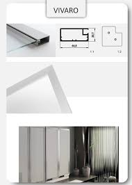 Sliding Glass Cabinet Doors Custom Sliding Glass Doors Aluminum Glass Cabinet Doors