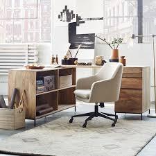 industrial modular desk set u2013 box file bookcase west elm