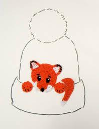 puppy applique crochet dog applique design hat applique