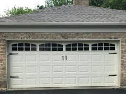 Charming Garage Door Decorative Kits Signature Windows Customer
