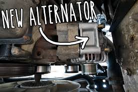 breaking down and fixing it u2013 how i changed the alternator in a