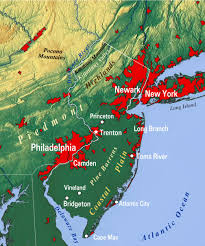 Map Of New Jersey Shore Reference Map Of New Jersey Usa Nations Online Project
