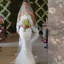 bridal veil 2017 new model bridal veil white ivory 3m bridal veils