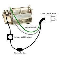 fireplace blower kit wiring diagram fireplace ideas pinterest
