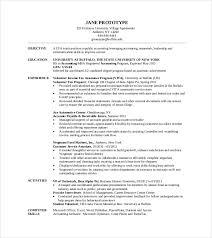 Sample Resume For Tax Preparer Mba Resume Sample Resume Templates