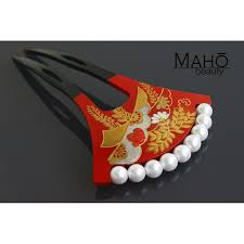 traditional hair accessories traditional japanese hair accessory kanzashi hair comb golden