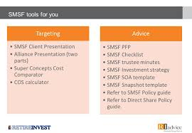 super concepts self managed superannuation value proposition presented by joncarl