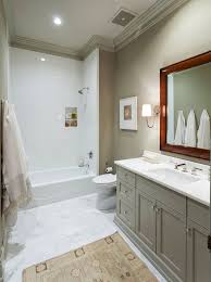 bathroom trim ideas grey bathroom vanity with beige wall decorating