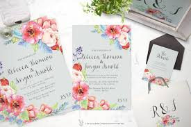 Customizable Wedding Invitations Printable Wedding Invitation Suite Customizable Wedding Invites