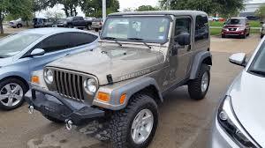 tdy sales pewter 2005 jeep wrangler rubicon hardtop 33k original
