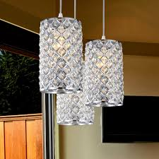 Multi Pendant Lighting Elegant Crystal Pendant Lighting For Kitchen About Interior