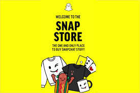 snapchat launches in app merchandise store opening the potential