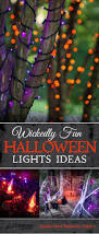 Christmas Light Ideas by 25 Best Halloween Lighting Ideas On Pinterest Spooky Halloween