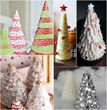 Extra Large Christmas Tree Ornaments by Christmas Tree Craft Ideas 15 Diy Tabletop Christmas Trees