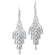 Big Chandelier Earrings Diamond Earrings History Of Earrings