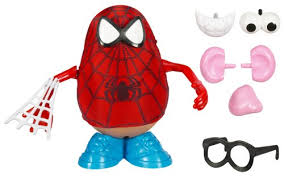 amazon hasbro potato head spider man u0026 friends spider