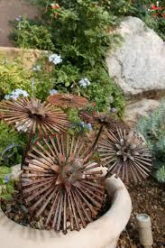 Deko Garten Selber Machen Holz Die Besten 25 Gartendeko Rost Ideen Auf Pinterest Rost Deko