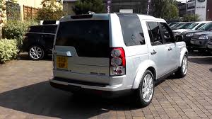 land rover lr4 silver beadles indus silver 2013 land rover discovery 4 hse 3l youtube