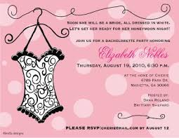 Lingerie Party Invitations Custom Cards For Lingerie Shower Bridal Showers And Bachelorette