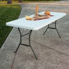 High Top Folding Table Cheap Fold Up Tables Metal Folding Table 6 Foot Center Folding