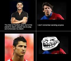 Funny Messi Memes - messi vs ronaldo messi owns ronaldo after being asked on his