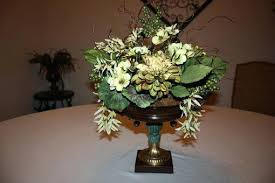 dining table dining room table silk flower arrangements everyday
