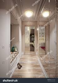 urban modern interior design classic modern urban contemporary hallway interior stock