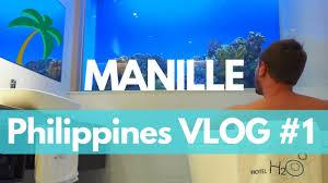 chambre aquarium manille visite intramuros et chambre aquarium vlog philippines