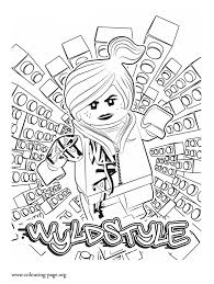 lego friends coloring page in this picture are the characters tip pig and oh from home movie