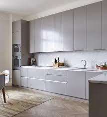 Light Grey Kitchen Cabinets Best 25 Modern Grey Kitchen Ideas On Pinterest Modern Kitchen