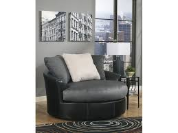 Swivel Living Room Accent Chairs Signd687 Signature Designs Living Room Oversized Swivel Accent
