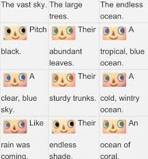 acnl hair color guide animal crossing new leaf face hair style and eye color guides all is