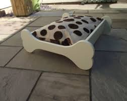 Shabby Chic Dog Beds by Wooden Dog Bed Etsy