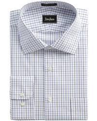 thomas pink slim fit non iron check dress shirt where to buy