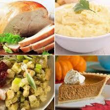 complete gourmet thanksgiving dinner serves 4 6