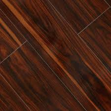 Laminate Flooring Door Jamb Hampton Bay High Gloss Redmond African 8 Mm Thick X 7 3 5 In Wide