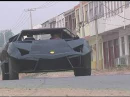 who made the lamborghini aventador creates own lamborghini out of iron and an