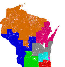 Wisconsin Assembly District Map by Wisconsin Congress Redistricting