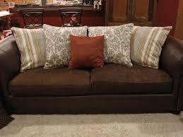 ikea sofa chaise lounge tan throw pillows drum shade table lamp linen chaise lounge ikea