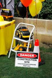 Construction Party Centerpieces by Construction Party Ideas Construction Party Cookies Dump Truck
