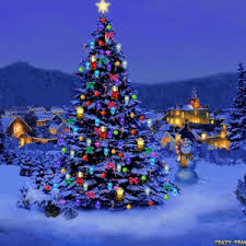 decoration snowy beautiful tree ornaments fabulous