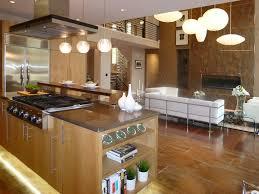 contemporary kitchen with limestone tile floors by heidi mendoza