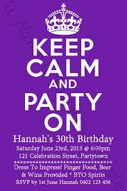 free printable 30th birthday invitation templates invitation ideas