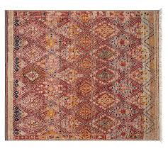 Pottery Barn Runner Rug Vaughn Knotted Rug Pottery Barn