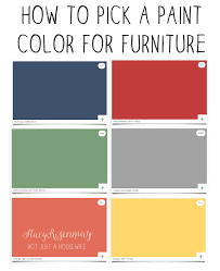 how to pick a paint color for furniture stacy risenmay