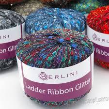 ladder ribbon berlini ladder ribbon glitter knitting yarn at numei yarn numei