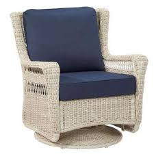 White Wicker Outdoor Patio Furniture Park Patio Furniture Outdoors The Home Depot